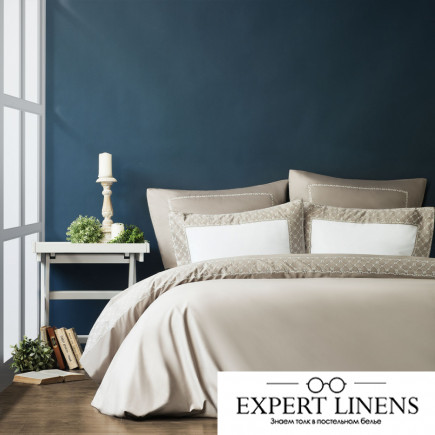 Постельное белье Emanuel Цвет: Серый (2 сп. евро)