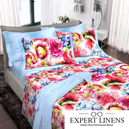 Постельное белье Голден эйдж цвет: синий ирис (1,5 спал.)