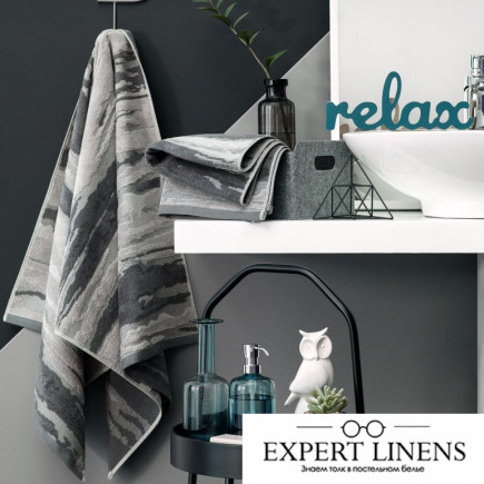 Полотенце Флинт Цвет: Серый (50х100 см,70х140 см)